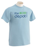 The Depot Coffee House Blue T-shirt