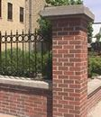 Masonry Piers and Ornamental Fence